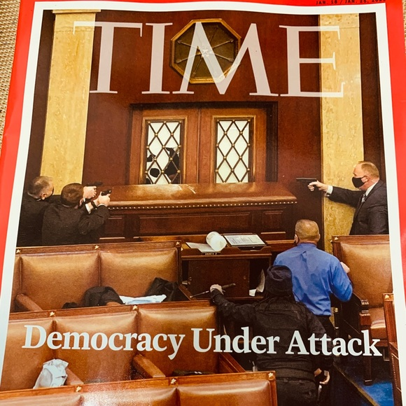 Time magazine collectible 1/18/21 NEW riot seige
